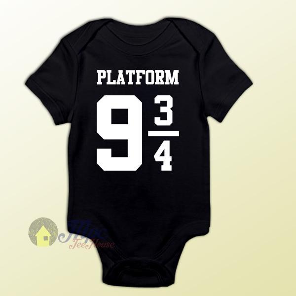 Harry Potter Platform 9 3/4 Express Baby Onesie