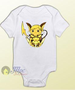 Pokemon Pikachu Character Baby Onesie