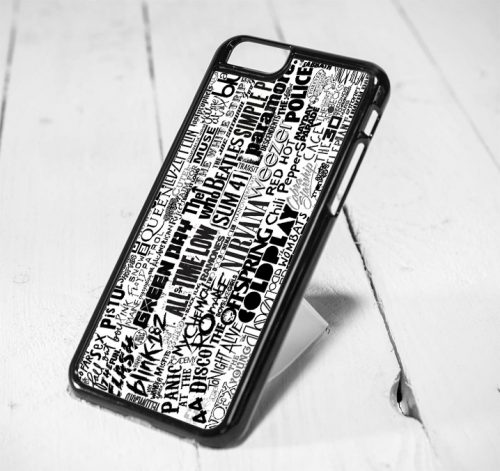 Pop Punk Band College iPhone 6 Case iPhone 5s Case iPhone 5c Case Samsung S6 Case and Samsung S5 Case