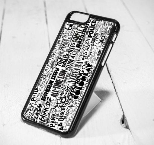 Pop Punk Band College iPhone 6 Case iPhone 5s Case iPhone 5c Case Samsung S6 Case and Samsung S5 Case