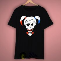 Harley Quinn Skull T Shirt