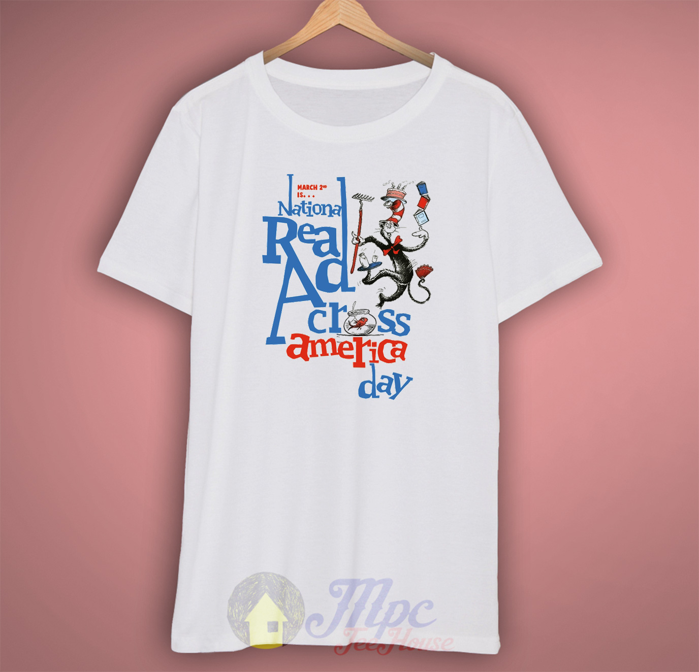 Dr Seuss Book Quote T Shirt