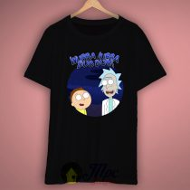 Rick Morty Wubba Lubba Dub T Shirt