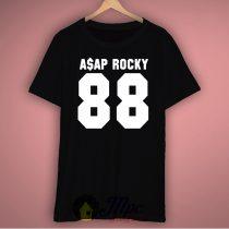 Asap Rocky 88 Jersey Number Unisex Premium T Shirt Size S-2XL