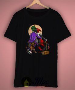 Romantic Joker and Harley Quinn T Shirt