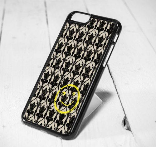 Sherlock Holmes Damask Smile iPhone 6 Case iPhone 5s Case iPhone 5c Case Samsung S6 Case and Samsung S5 Case