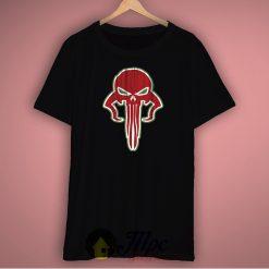 Skull Of Mandalorian Boba Fett Unisex Premium T Shirt Size S-2Xl