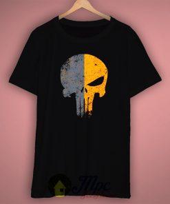 Skull Sniper Flag T Shirt