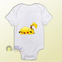Pokemon Pikachu Sleep Baby Onesie