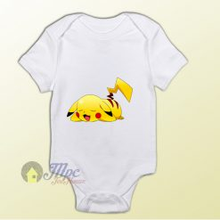 Pokemon Pikachu Sleep Baby Onesie