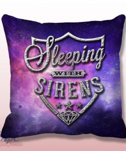 Sleeping With Sirens Symbol Throw Pillow Cover