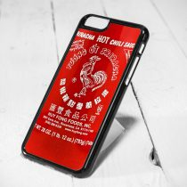 Sriracha Hot Sauce iPhone 6 Case iPhone 5s Case iPhone 5c Case Samsung S6 Case and Samsung S5 Case