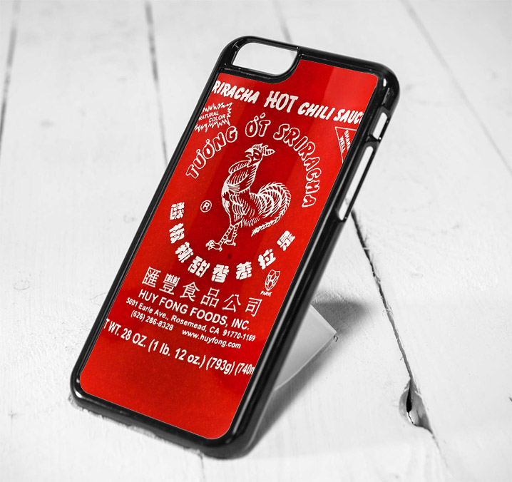 Sriracha Hot Sauce iPhone 6 Case iPhone 5s Case iPhone 5c Case Samsung S6 Case and Samsung S5 Case