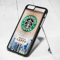 Starbucks Coffee Cup Discoveries Seattle iPhone Cases