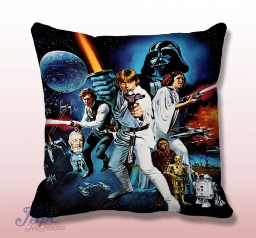 Classic Starwars Throw Pillow Cover