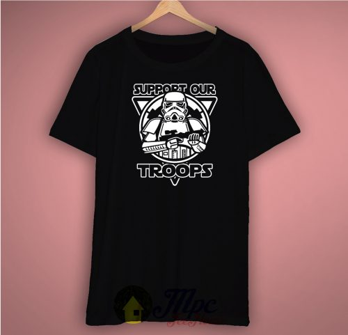 Stormtrooper Support Our Troops Unisex Premium T Shirt Size S-2XL