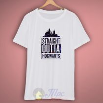 Straight Outta Hogwarts Galaxy T Shirt