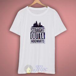 Straight Outta Hogwarts Galaxy T Shirt