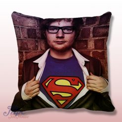 Super Ed Sheeran Throw Pillow Cover