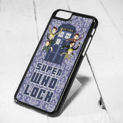 Superwholock Fandom Crest iPhone 6 Case iPhone 5s Case iPhone 5c Case Samsung S6 Case and Samsung S5 Case