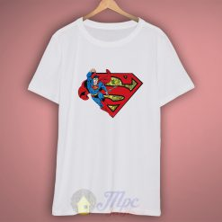 Superman Classic Comic T Shirt