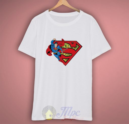 Superman Classic Comic T Shirt