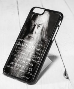 The Hobbit Gandalf Quote iPhone 6 Case iPhone 5s Case iPhone 5c Case Samsung S6 Case and Samsung S5 Case
