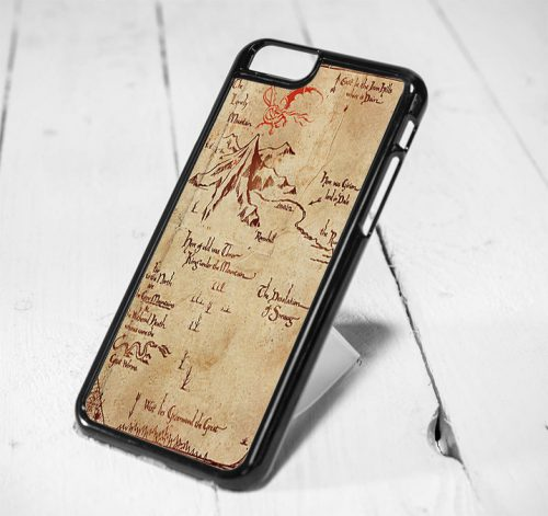 The Hobbit Lonely Mountain Map iPhone 6 Case iPhone 5s Case iPhone 5c Case Samsung S6 Case and Samsung S5 Case