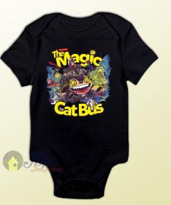 Totoro The Magic Cat Bus Neighbor Baby Onesie