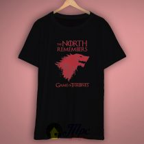 The North Remembers House Stark T Shirt