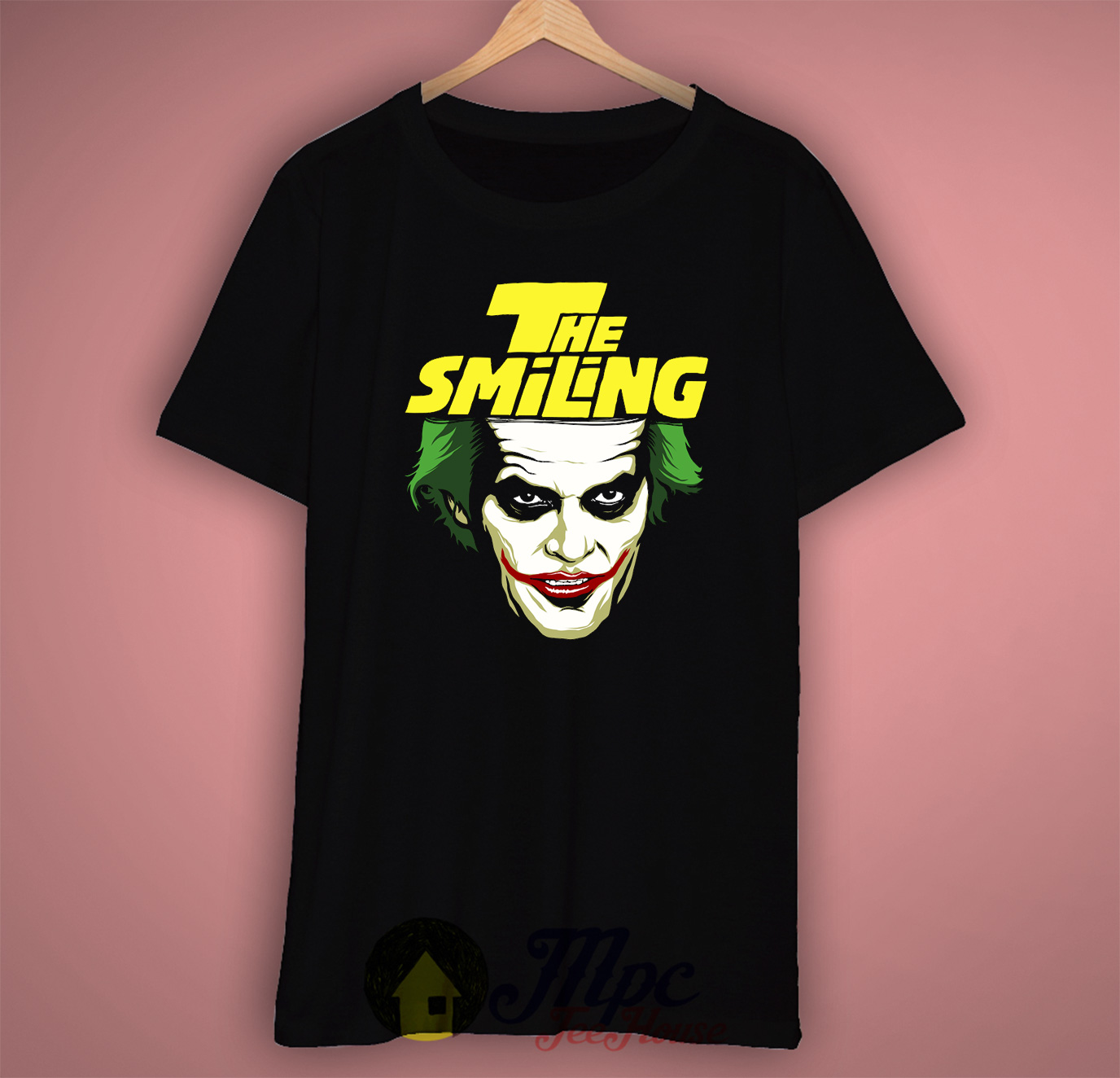 Joker Smiling Cool Graphic T Shirt Mpcteehouse 80s Tees