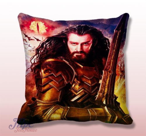 Thorin The Hobbit King Throw Pillow Cover