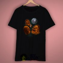 Three Chewbacca Cool Graphic T Shirt