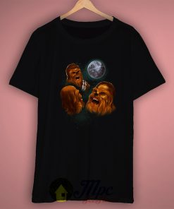 Three Chewbacca Cool Graphic T Shirt