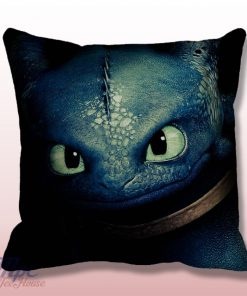 Toothless Night Furry How To Train Dragon Throw Pillow Cover
