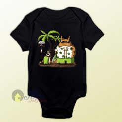 Totoro Summer Holiday Baby Onesie