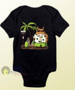 Totoro Summer Holiday Baby Onesie