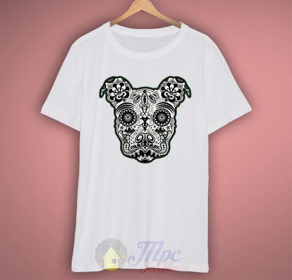 Dog Tribal Art Cool Graphic T Shirt
