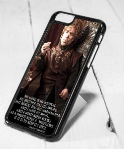 Tyrion Lannister Quote iPhone 6 Case iPhone 5s Case iPhone 5c Case Samsung S6 Case and Samsung S5 Case
