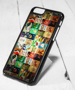 Vintage Disney Poster Collage iPhone 6 Case iPhone 5s Case iPhone 5c Case Samsung S6 Case and Samsung S5 Case