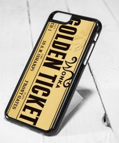 Willy Wonka Golden Ticket iPhone 6 Case iPhone 5s Case iPhone 5c Case Samsung S6 Case and Samsung S5 Case