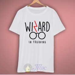 Harry Potter Wizard in Training Quote T Shirt