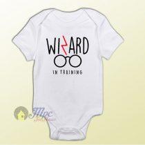 Harry Potter Wizard in Training Baby Onesie