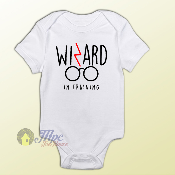 Harry Potter Wizard in Training Baby Onesie