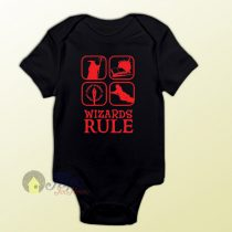 Wizard Rule of Harry Potter and The Hobbit Baby Onesie