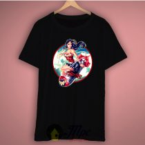 Wonder Woman Bomb Graphic T Shirt