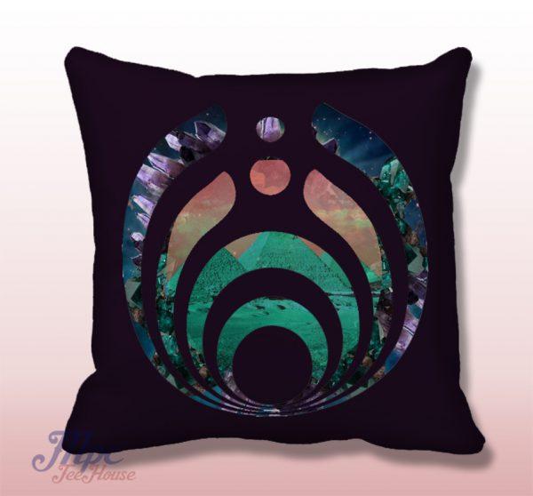 Bassnectar Symbol Throw Pillow Cover