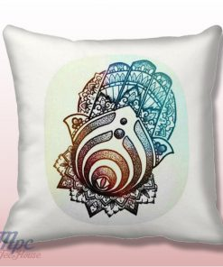 Bassnectar Symbol Hamsa Hand Throw Pillow Cover
