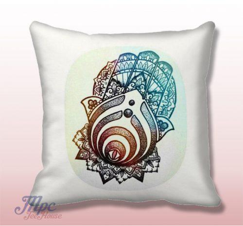 Bassnectar Symbol Hamsa Hand Throw Pillow Cover