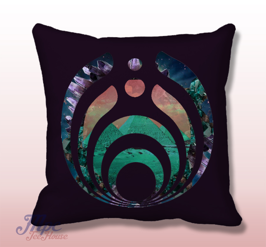 Bassnectar Symbol Throw Pillow Cover Mpcteehouse 80s Tees